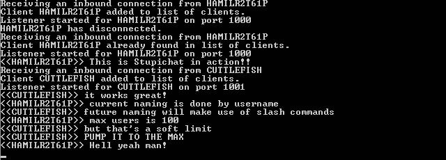 Stupichat Server